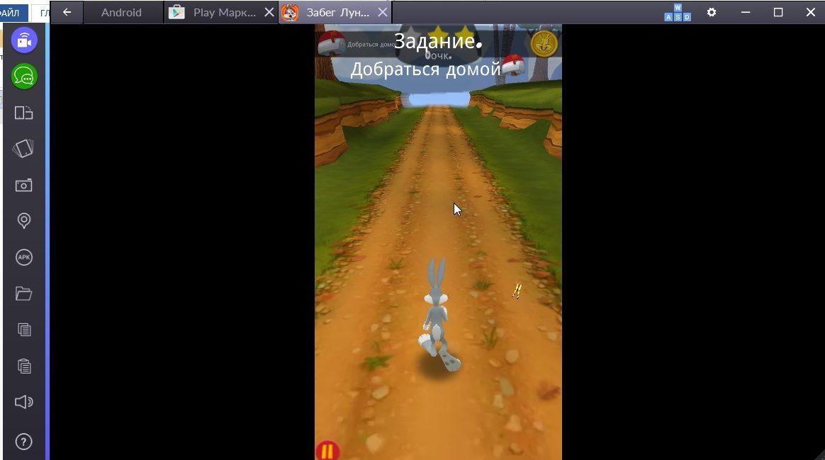 Игровой процесс Looney Tunes Dash
