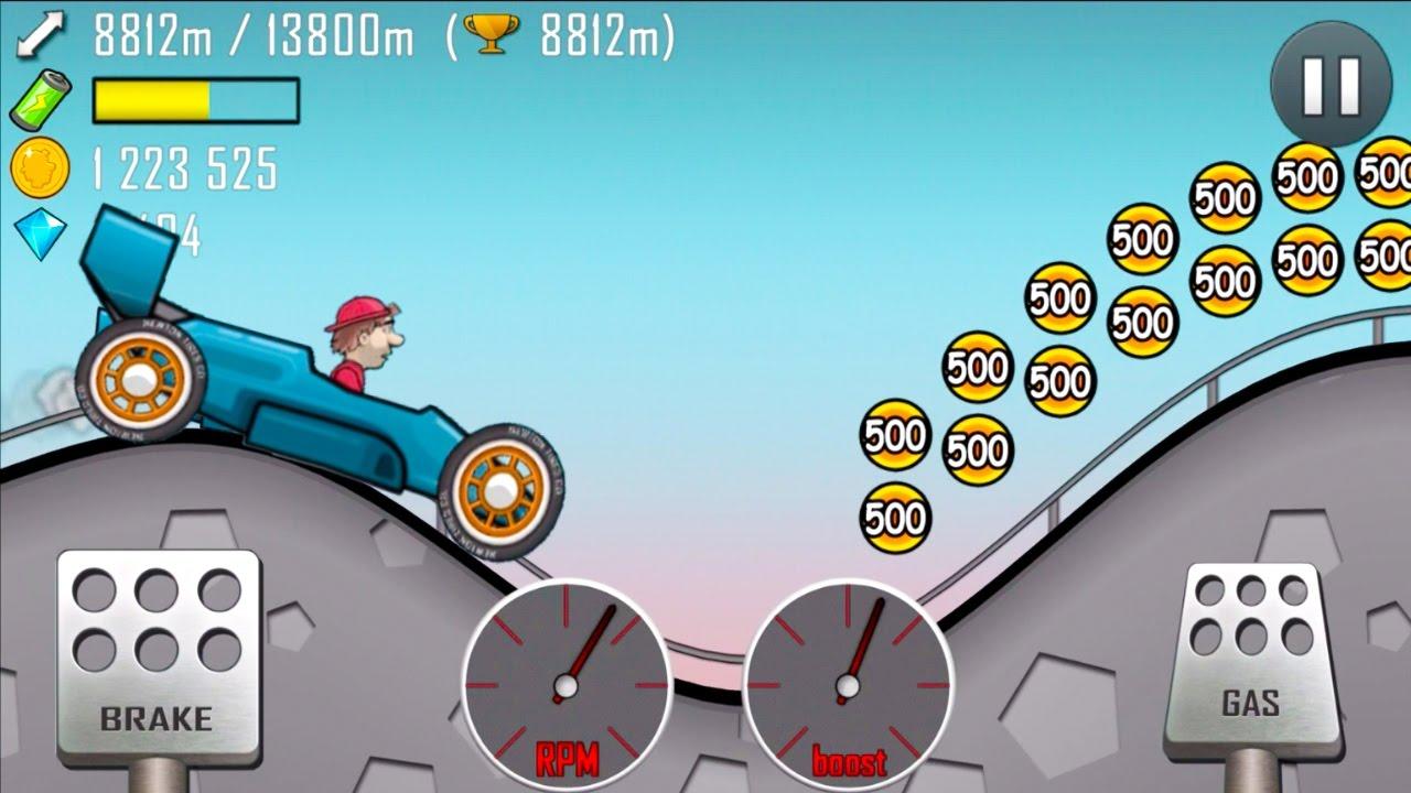 Геймплей Hill Climb Racing