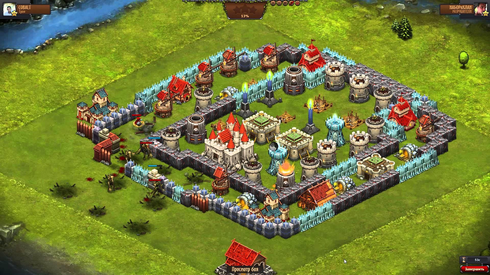Игровой процесс Битвы за трон