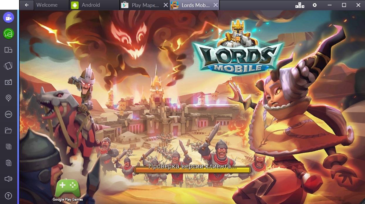 Kingdom lords на компьютер скачать