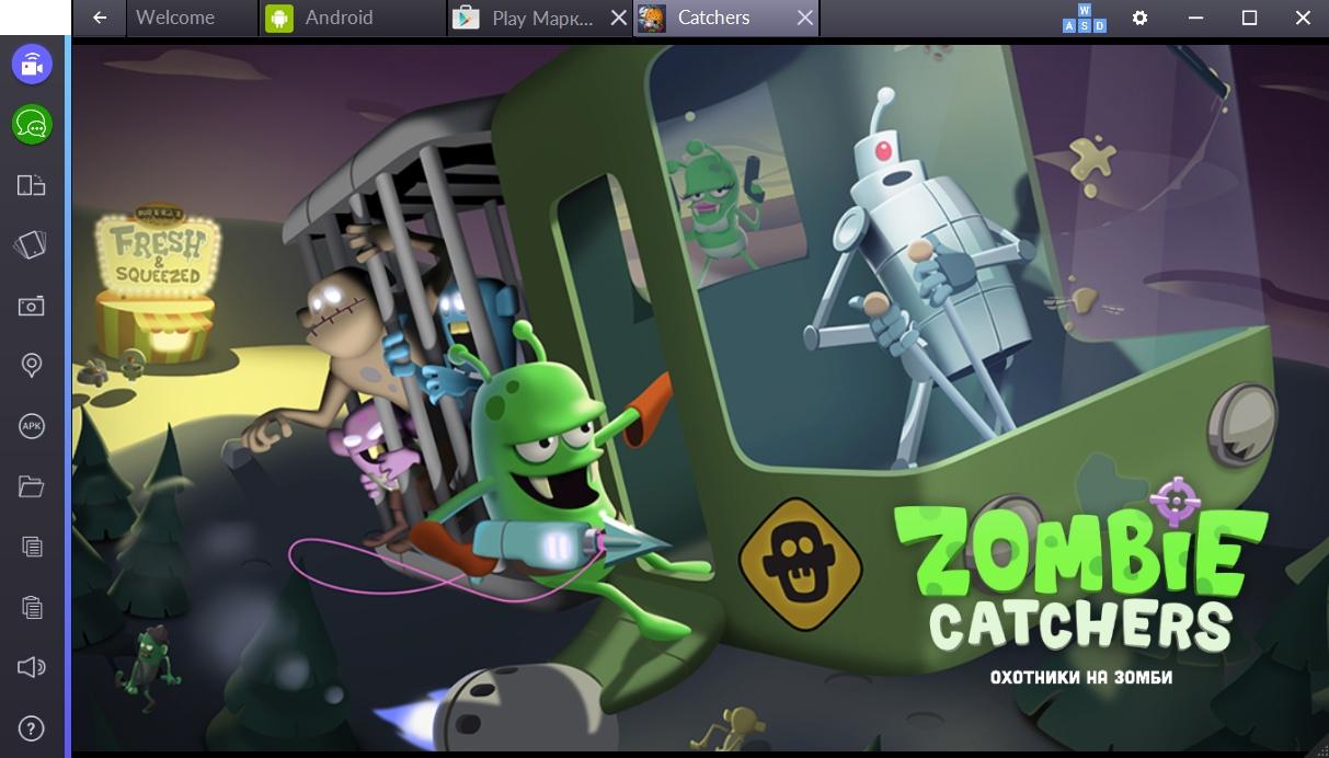 zombie-catchers-start-igry