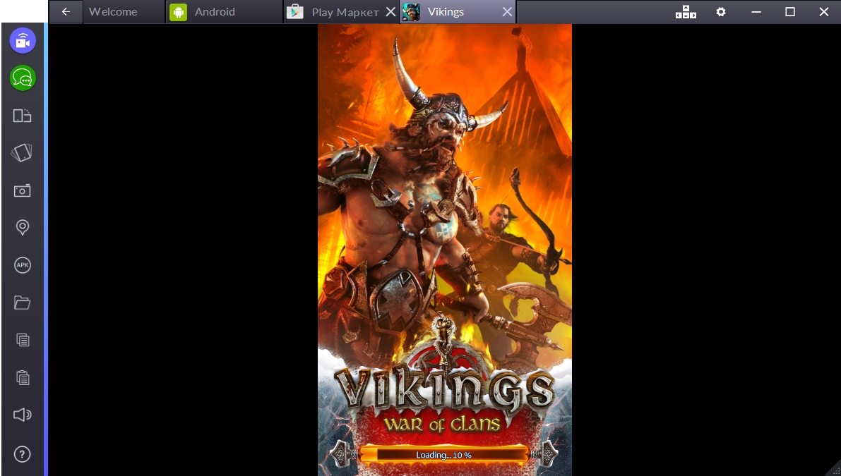 Скачать игру Vikings War of Clans торрент